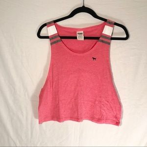 Donating Soon PINK VS Pink Cropped Tank M